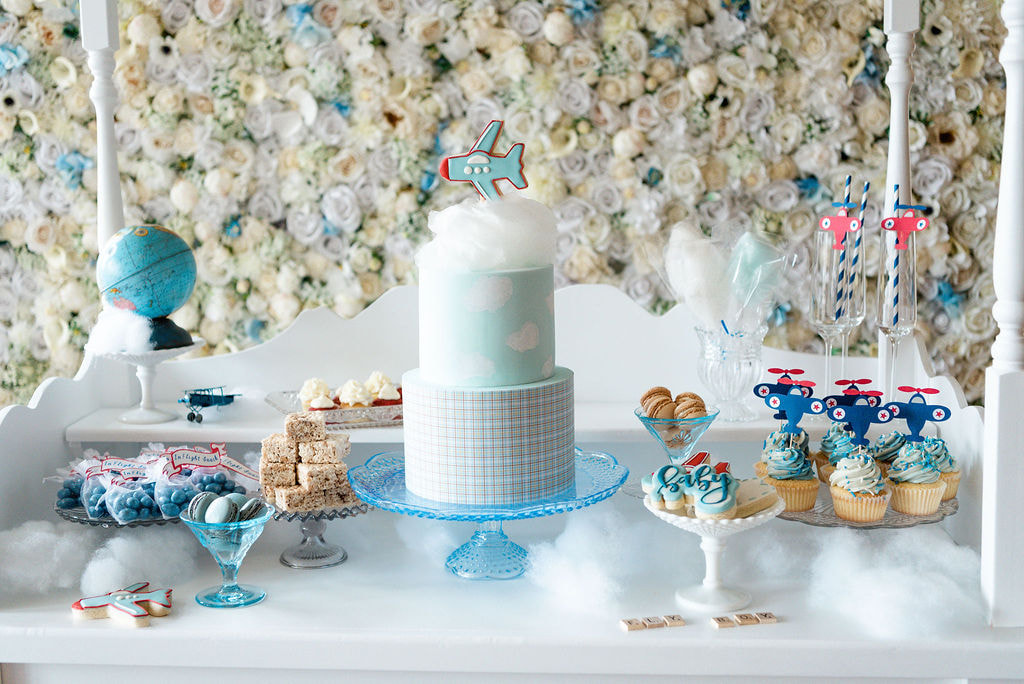 Baby Blue Sweet Table- Dessert Table