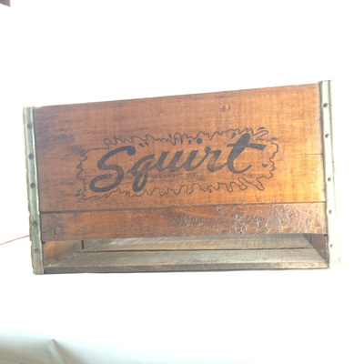 Squirt wooded Crate